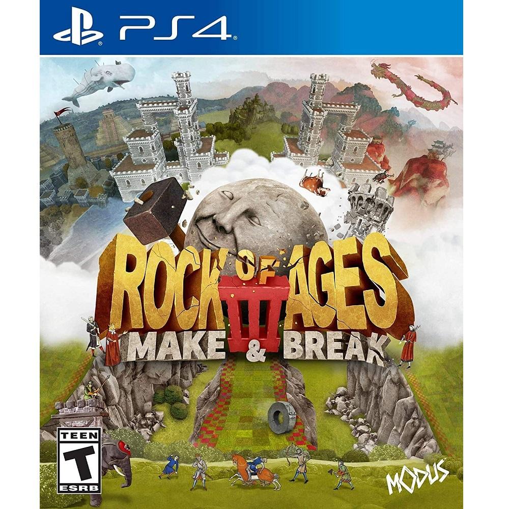 PS4 Rock of Ages 3 : Make and Break (Premium) Digital Download
