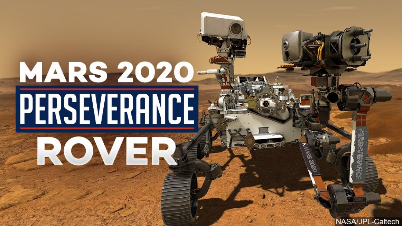 Rover Perseverance verso l'esplorazione di Marte con Drone spaziale alla caccia di Vita Aliena.