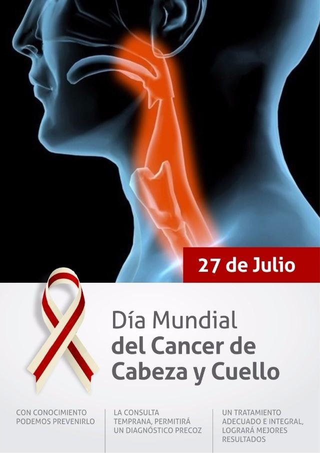 27 de julio – Día Mundial del Cáncer de Cabeza y Cuello (CCC) : No fumar ni beber en exceso y mantener una buena higiene bucal, las claves para prevenir el cáncer de cabeza y cuello