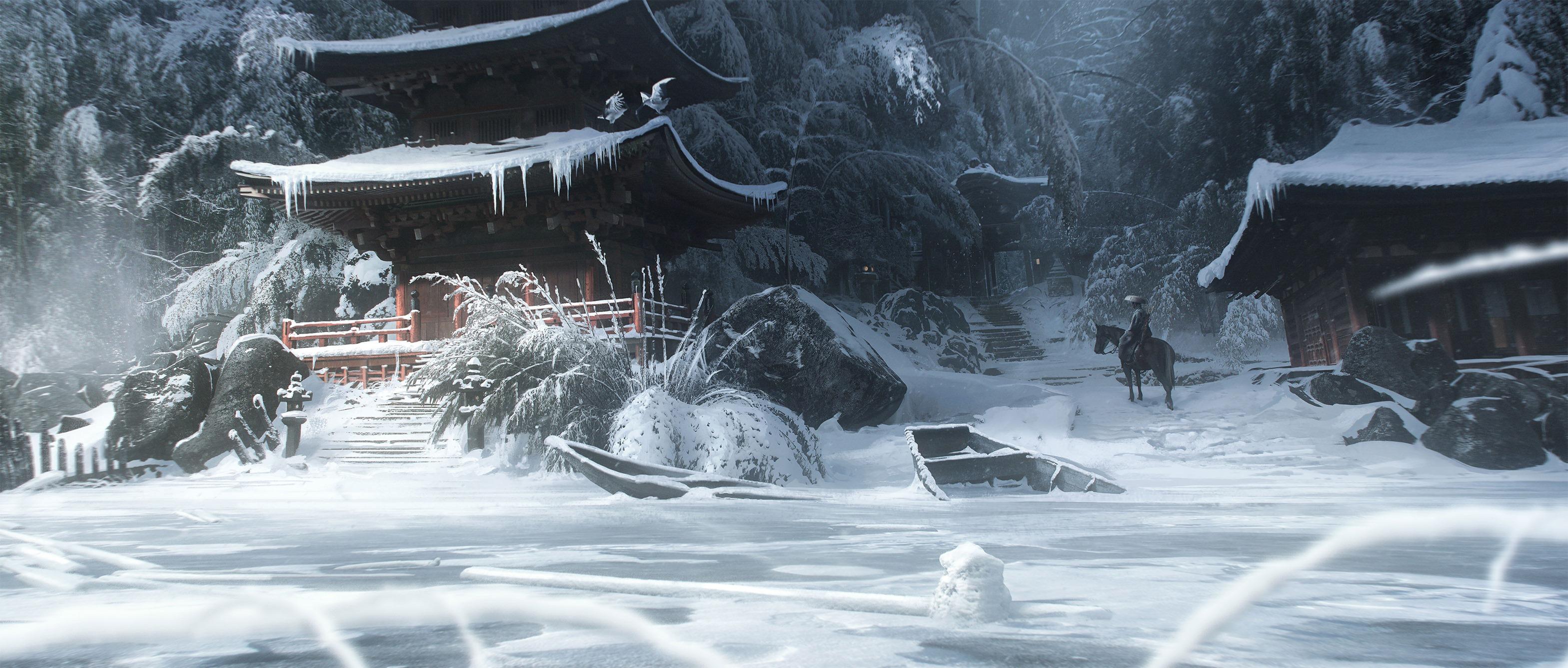 對馬幽魂 - 《對馬幽魂》公開了一組概念藝術設定圖 Image