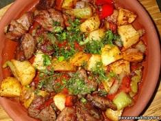 Ojakhuri with beef