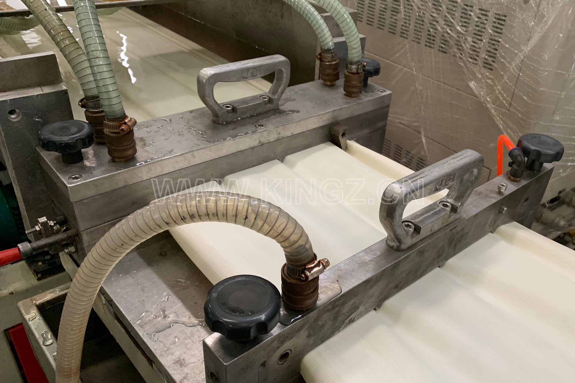 Siding-calibration-mould