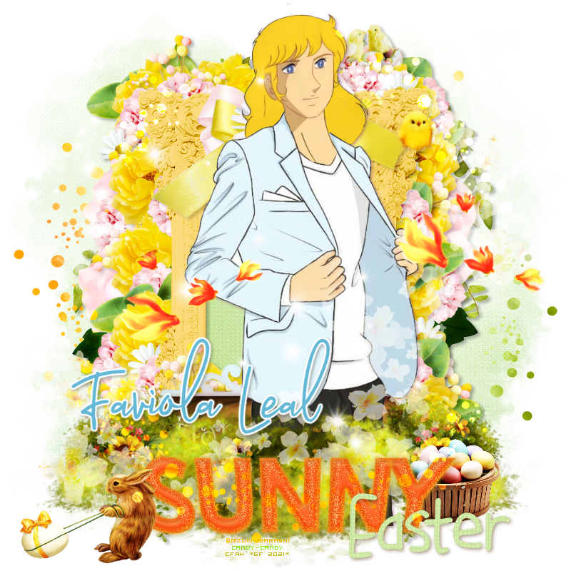"""OFRECIMIENTO CERRADO. PASAR A RECOGER FIRMAS.    GRACIASSS!      [♥ Celtic Faires Corazón Andrew ♥] ANIMALES FANTÁSTICOS -Aporte #3 -FIRMA """" Sunny Easter """"-Destellos para ALBERT Faviola-Leal"""