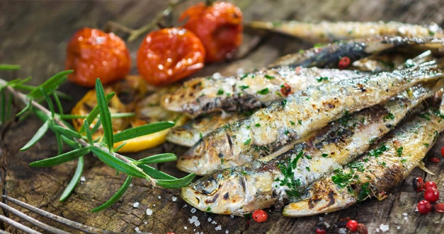 Top 10 foods you can't miss when visiting Lisbon - sardines