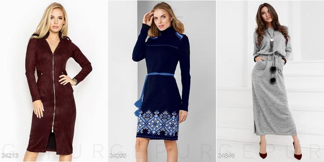 теплые женские платья 2019 фото