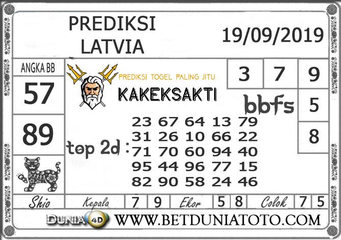 """Prediksi Togel """"LATVIA"""" DUNIA4D 19 SEPTEMBER 2019"""
