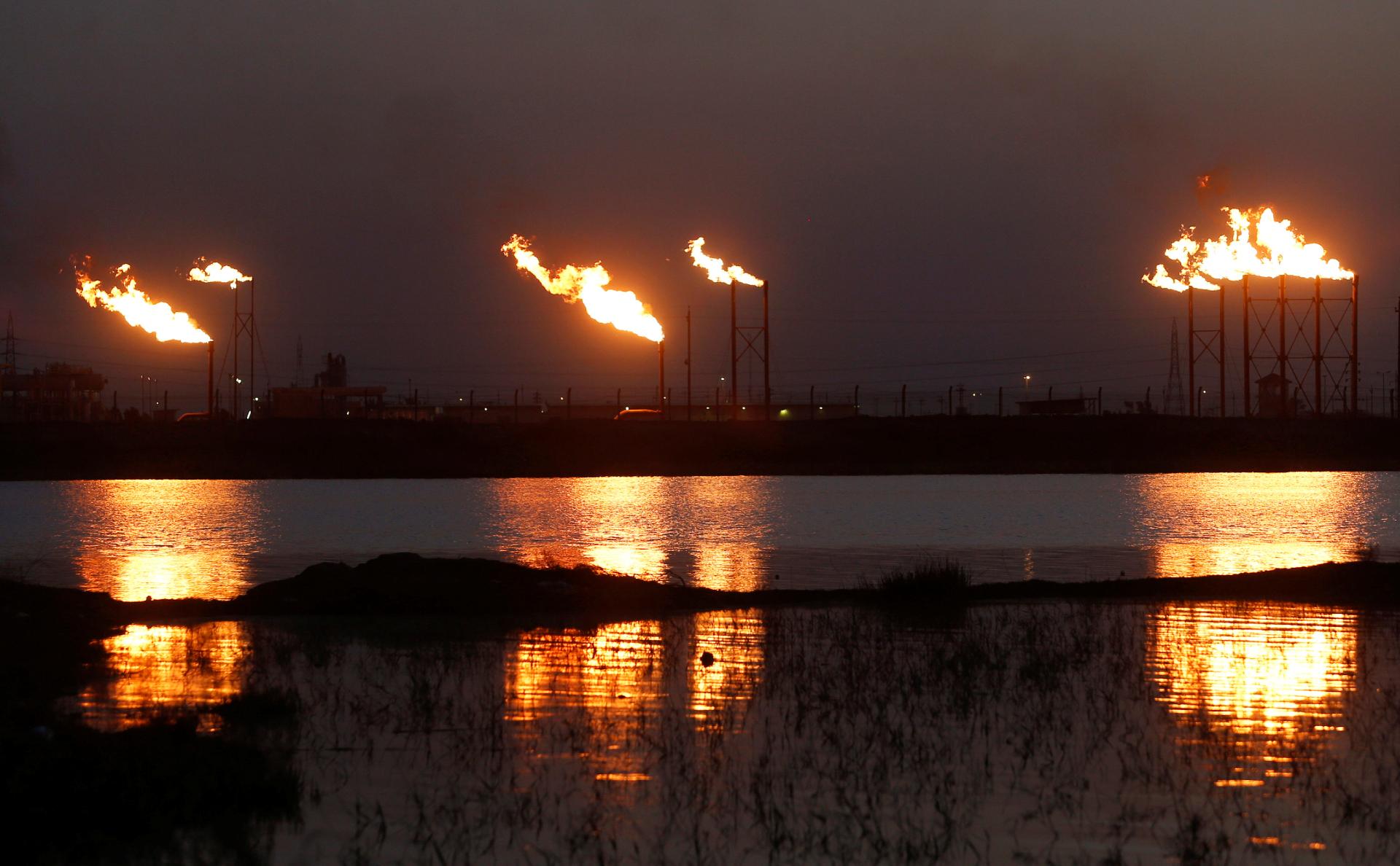 сгорание нефти в мире