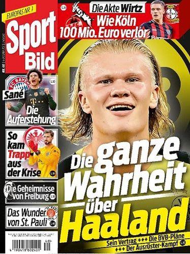 Cover: Sport Bild Magazin No 40 vom 06  Oktober 2021