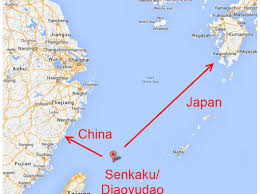Senkaku-distance-between-Japan-China-map