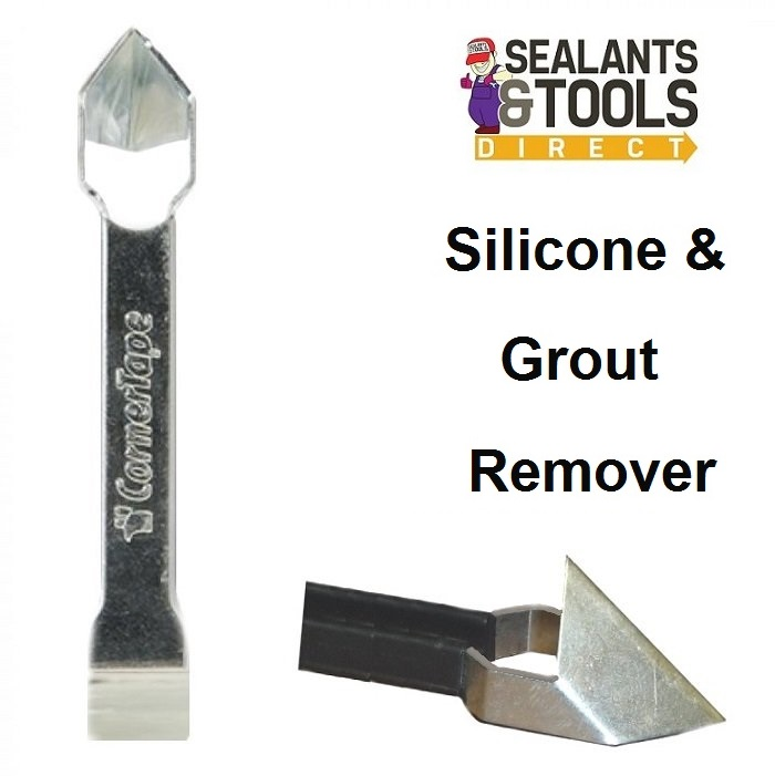 CornerTape Professional Silicone Sealant and Grout Remover