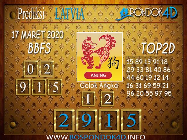 Prediksi Togel LATVIA POOLS PONDOK4D 17 MARET 2020