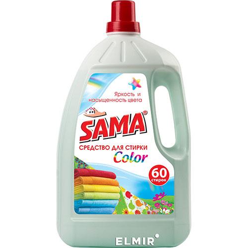 """სამა თხ.სარეცხ.საშ.""""SAMA-Color"""" ფერადი ქსოვილ.3ლ"""