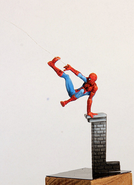 Spiderman (Knight Models 35mm) IMG-3348