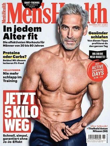 Cover: Mens Health Magazin November No 11 2021