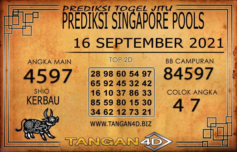 PREDIKSI TOGEL SINGAPORE TANGAN4D 16 SEPTEMBER 2021
