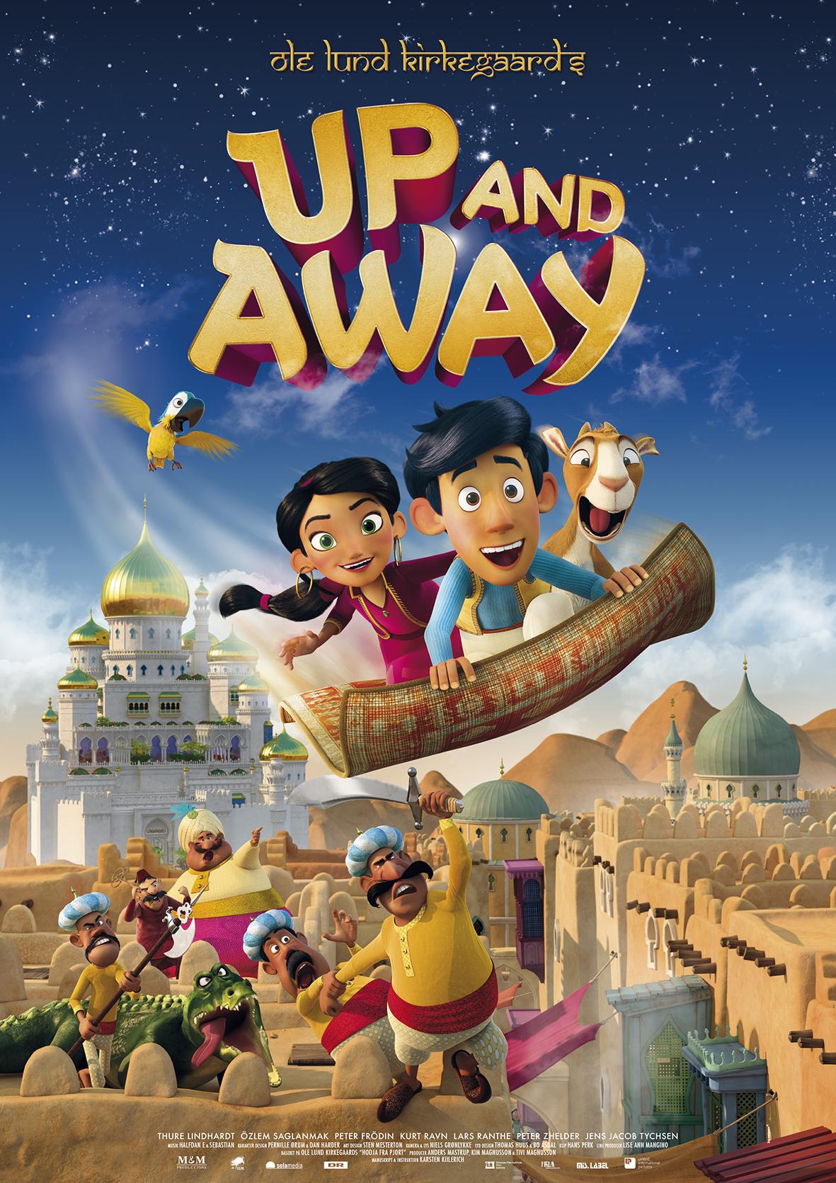 Up And Away 2018 Hindi Dubbed 720p HDRip ESub 500MB Download