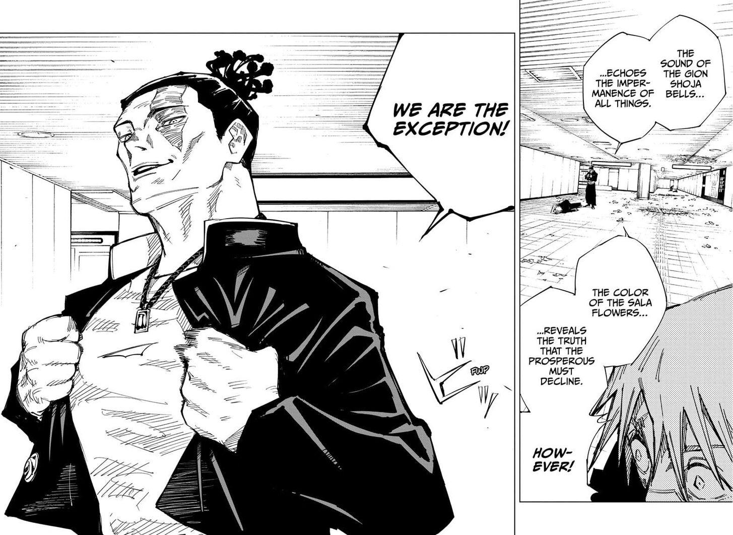 Jujutsu Kaisen, Chapter 126 015