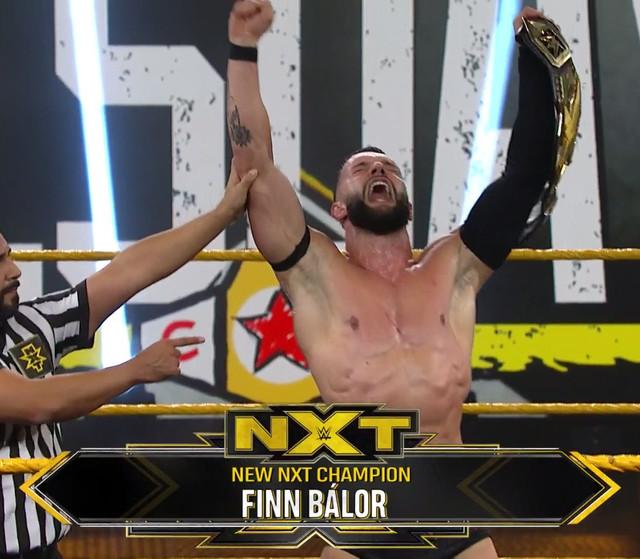Finn Bálor vence a Adam Cole, es nuevo Campeón de NXT