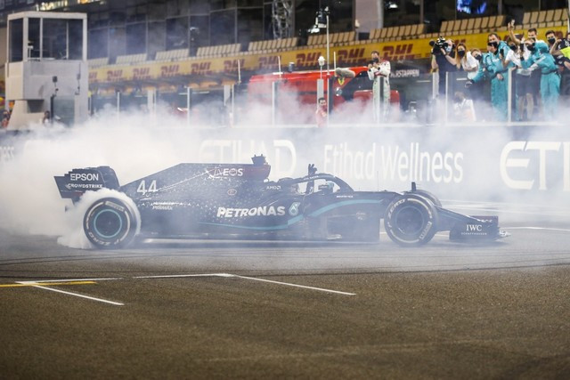 F1 GP d'Abu Dhabi 2020 : Victoire Max Verstappen pour la dernière manche de la saison  M255627