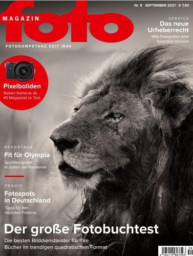 Cover: Fotomagazin No 09 September 2021