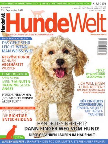 Cover: Hunde Welt Magazin No 09 September 2021