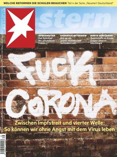 Cover: Der Stern Nachrichtenmagazin No 35 vom 26  August 2021