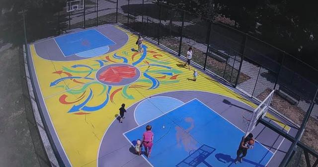За баскетбольной площадкой в Николаеве будут следить онлайн