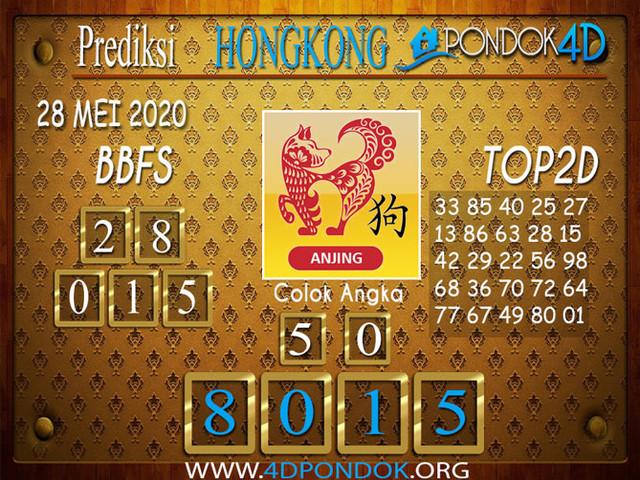 Prediksi Togel HONGKONG PONDOK4D 28 MEI 2020