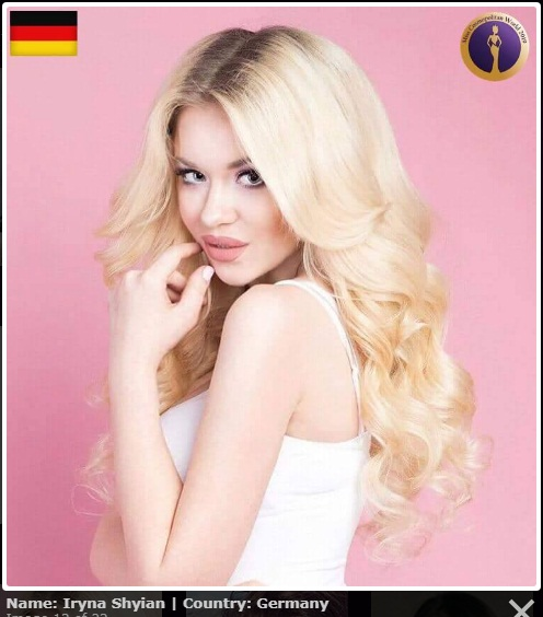 candidatas a miss cosmopolitan world 2019. final: 25 oct. Miss-germany