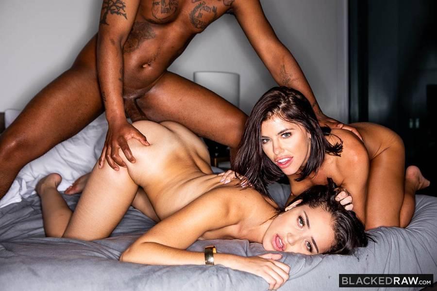 Avi Love, Adriana Chechik, Sly Diggler – New Kid – Blacked Raw