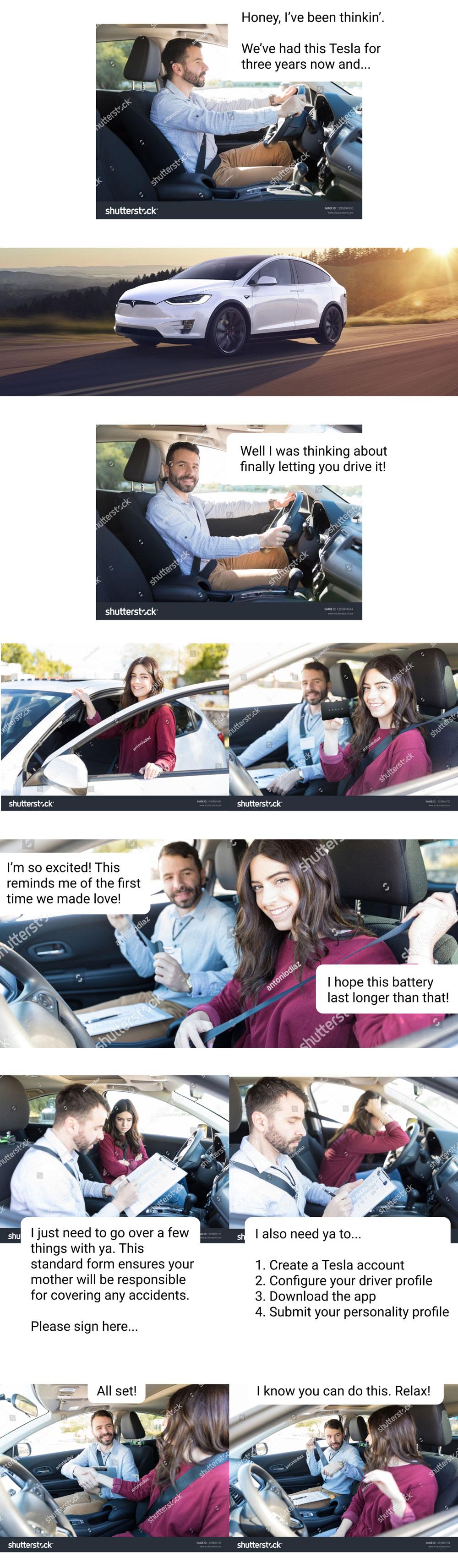 A Tesla love story part 1