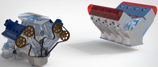 ВАЗ-V8. Восьмицилиндровый из двух вазовских. Vaz-zil