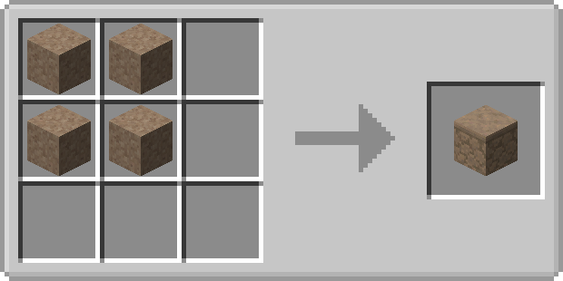 Deep sandstone recipe