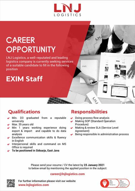 EXIM-Staff-Placement-SDA