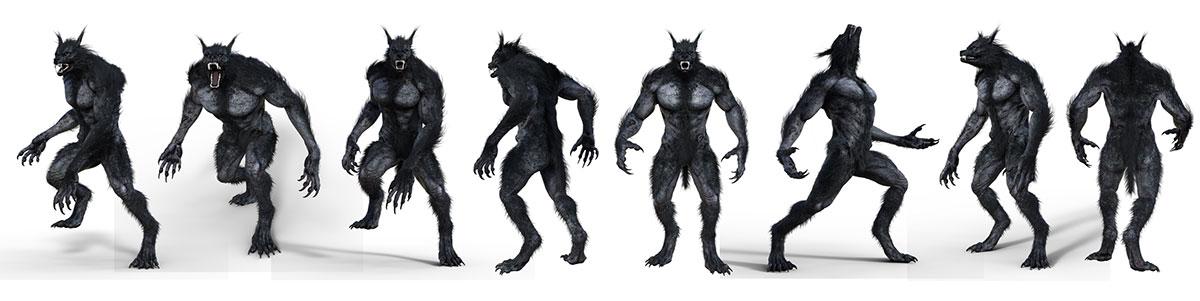 cinematic werewolf sales page lineup