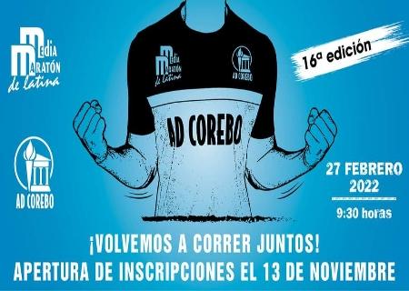 Vuelve la Media Maratón de Latina con apertura de inscripciones el 13 de Noviembre