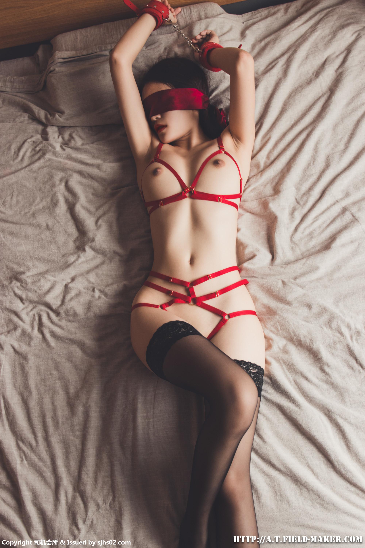 Tsubaki Album vol.011 Red Belt Bondage赤い糸緊縛り031