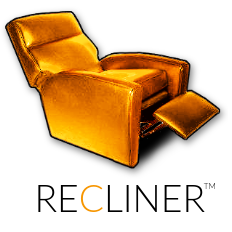 recliner logo and TM