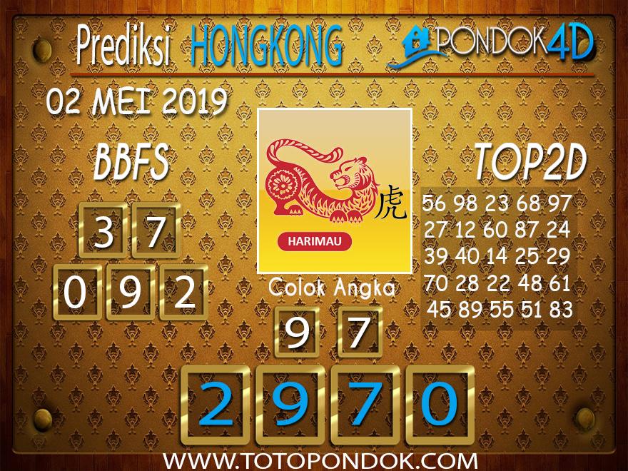 Prediksi Togel HONGKONG PONDOK4D 02 MEI 2019