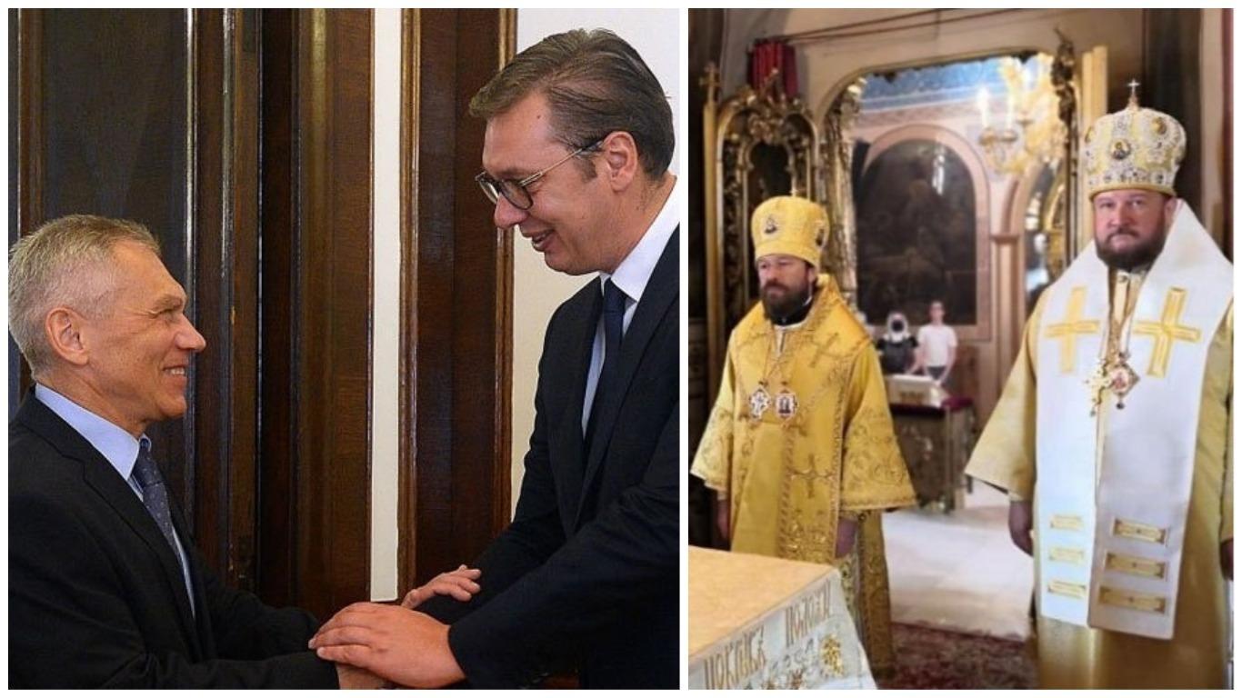 I DRŽAVA I CRKVA PODNOSE IZVJEŠTAJE PUTINU! Vučić upoznao Moskvu sa sadržajem dijaloga o Kosovu, srpski vladika odlikovan u Moskvi!