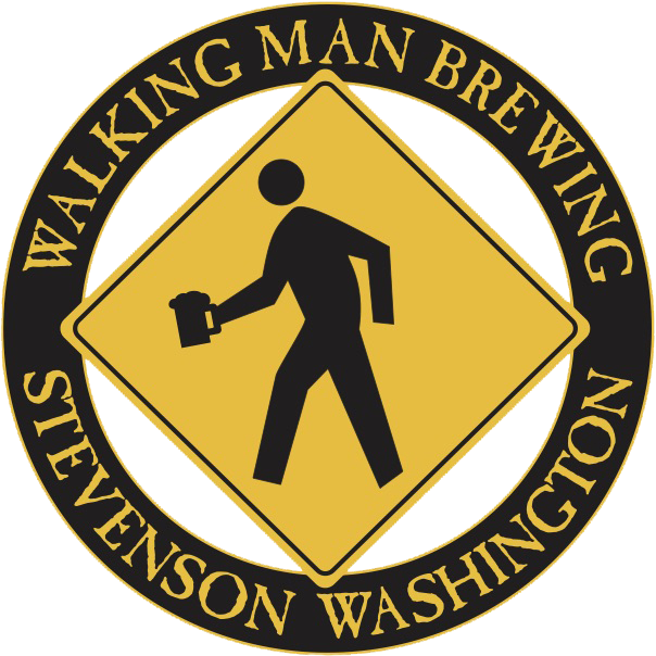 Walking Man Brewing Logo