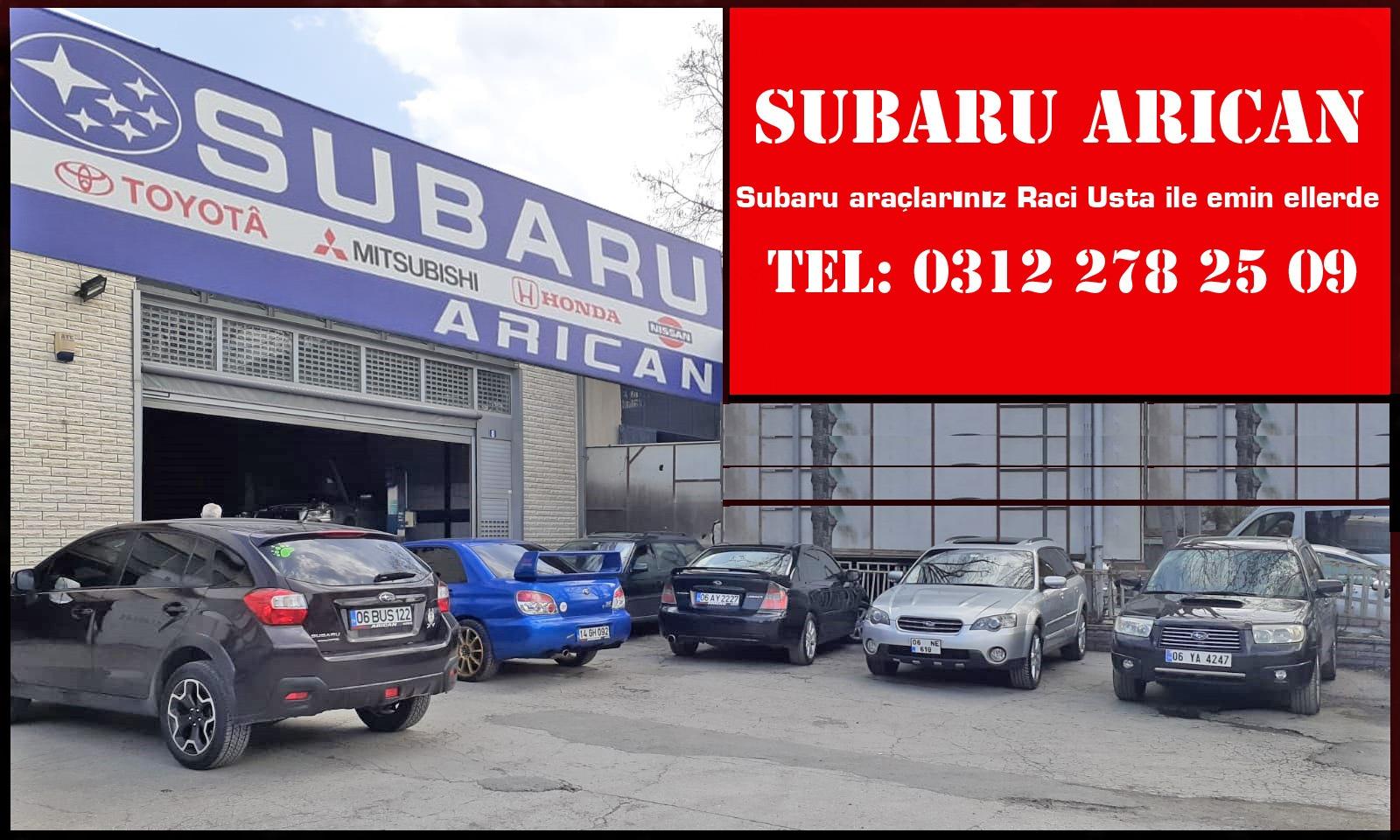Subaru Araçlarınız Raci Usta ile Emin Ellerde