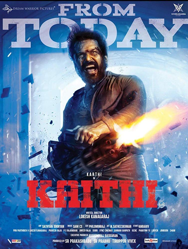 Kaithi (2019) Telugu Action Movie HDRip x264 AAC