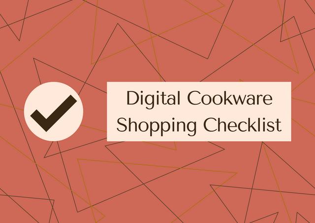 Digital-Cookware-Shopping-Checklist
