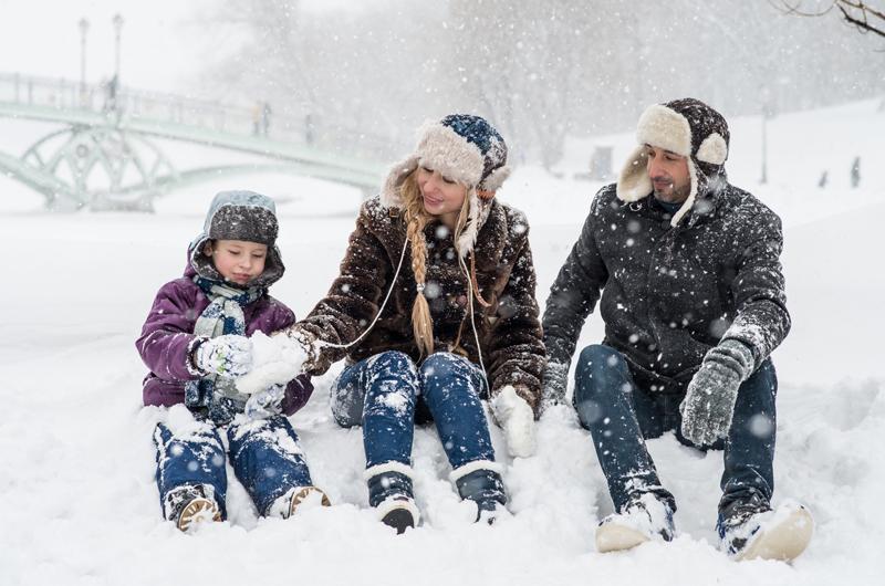 January Winter Outdoor Fun