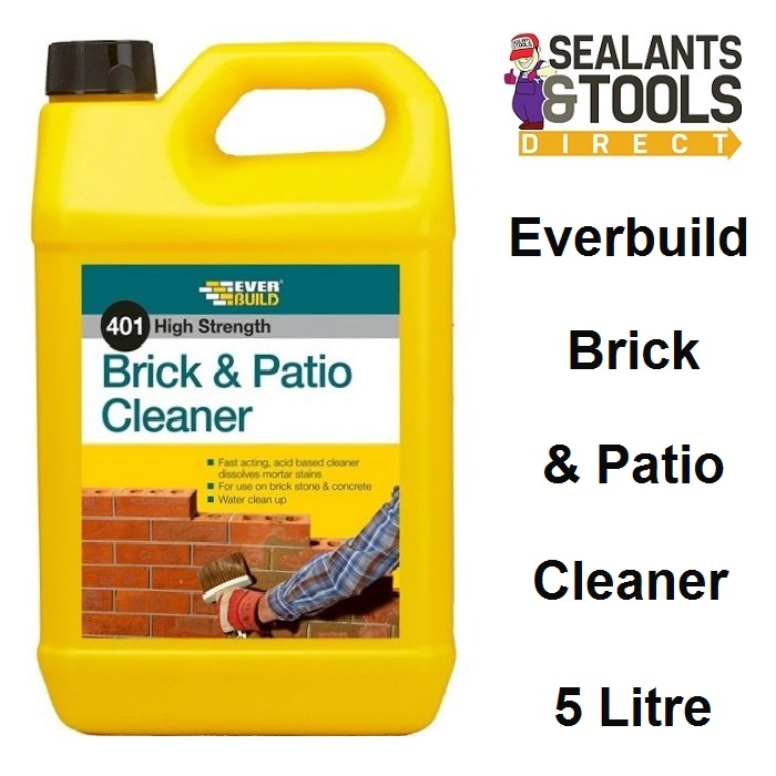 Everbuild 401 Brick and Patio Cleaner 5 Litre BC5L