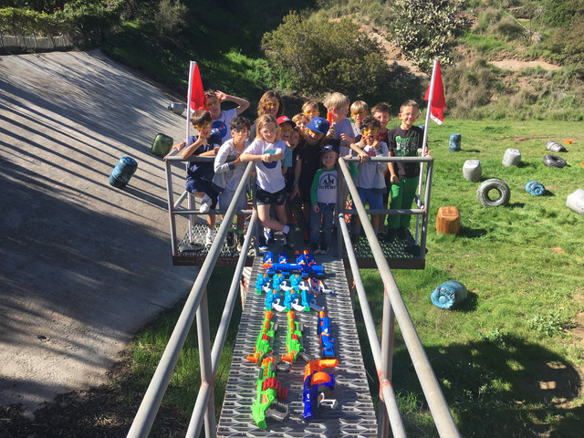 Nerf Birthday Party in Malibu for 20 to 40 players