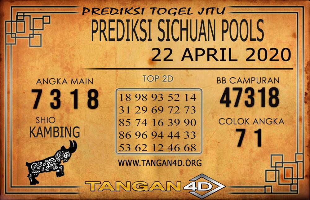 PREDIKSI TOGEL SICHUAN TANGAN4D 22 APRIL 2020