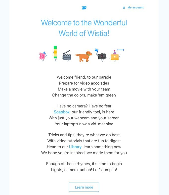 wistia email example