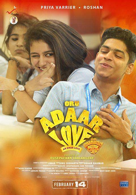 Oru Adaar Love 2019 Malayalam Movie 720p